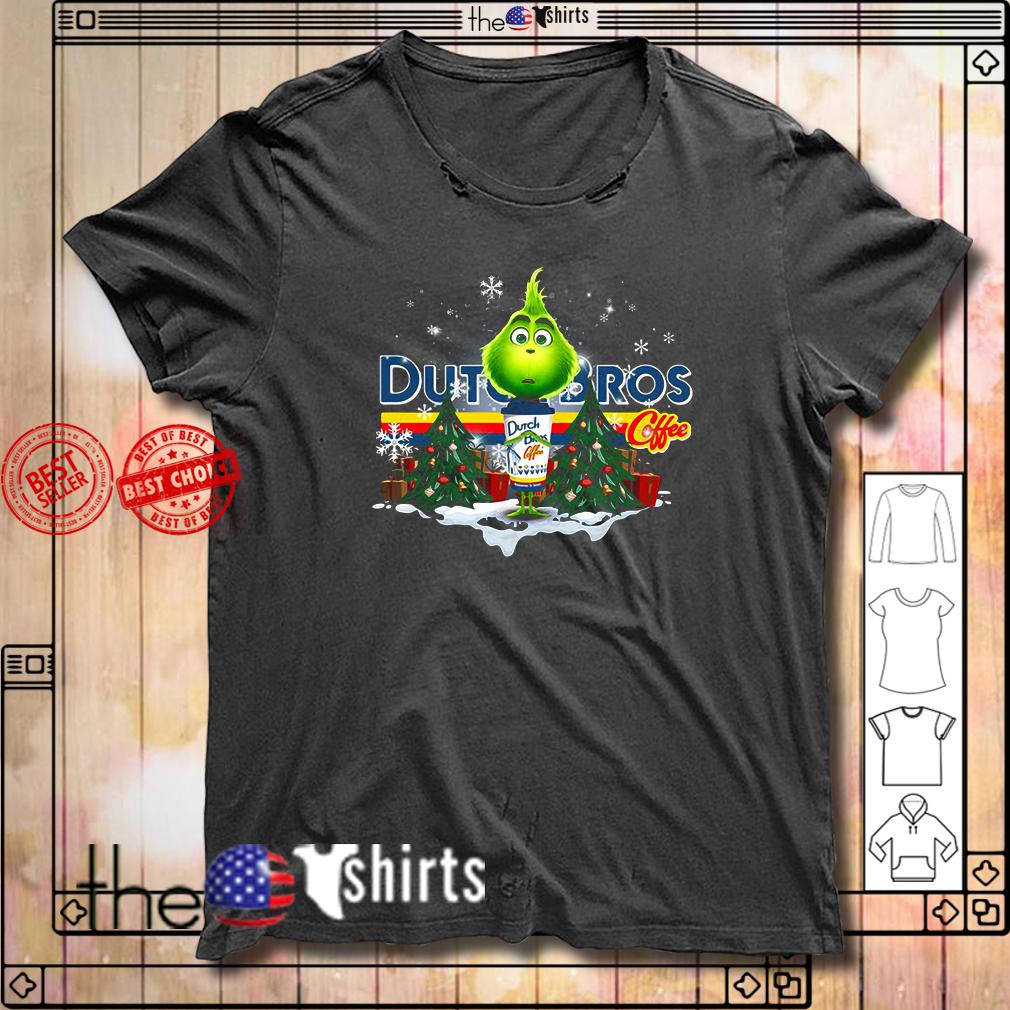 Grinch hug Dutch Bros Coffee Christmas shirt