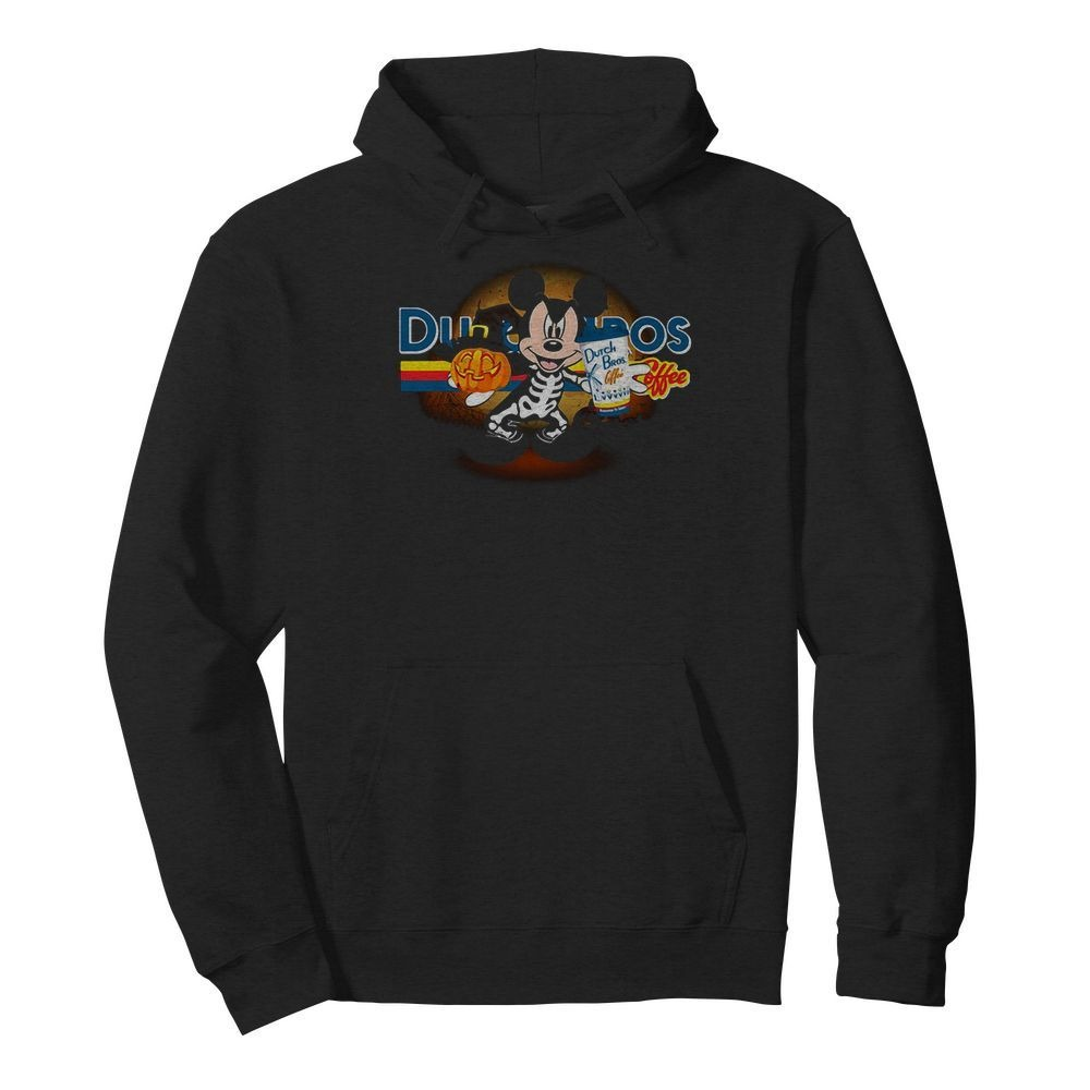 Halloween Dutch Bros Coffee Mickey Mouse version Hoodie