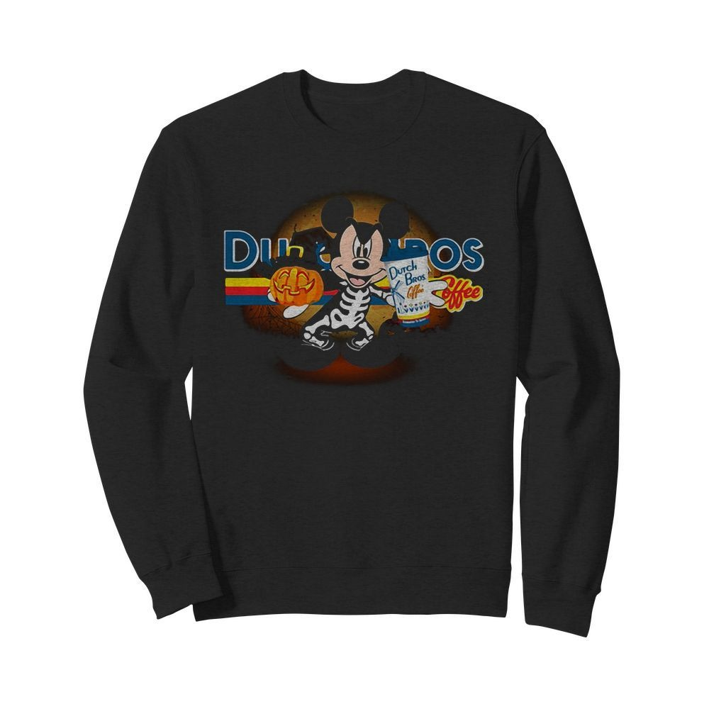 Halloween Dutch Bros Coffee Mickey Mouse version Sweater