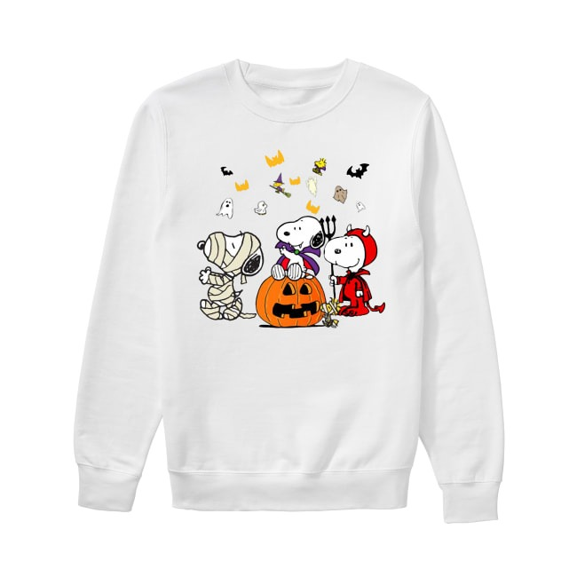 Halloween Snoopy Dog Peanuts Sweater