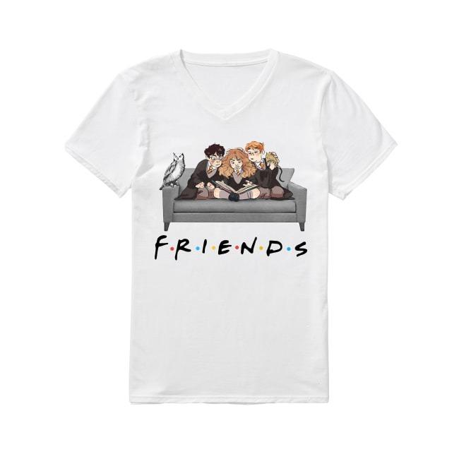 Harry Potter Emma Watson And Rupert Grint Friends V-neck T-shirt