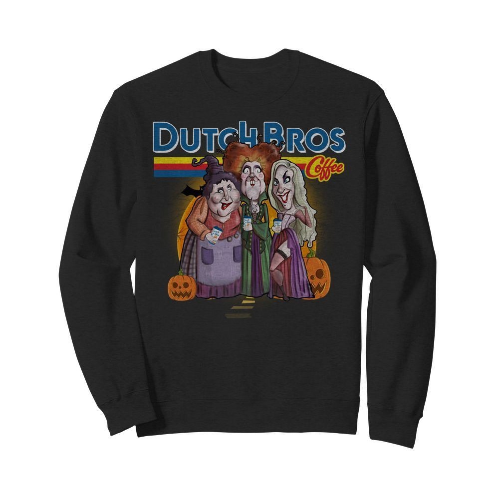Hocus Pocus drink Dutch Bros Coffee Sweater