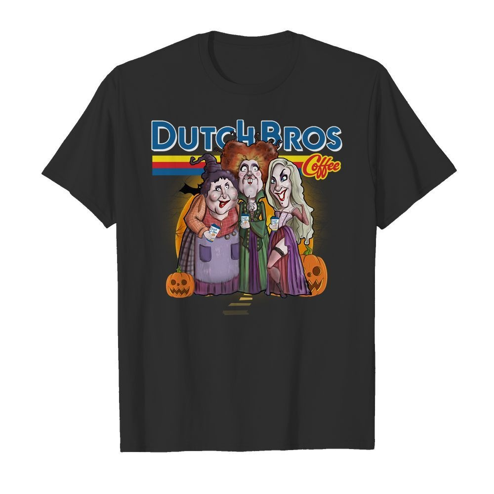 Hocus Pocus drink Dutch Bros Coffee shirt