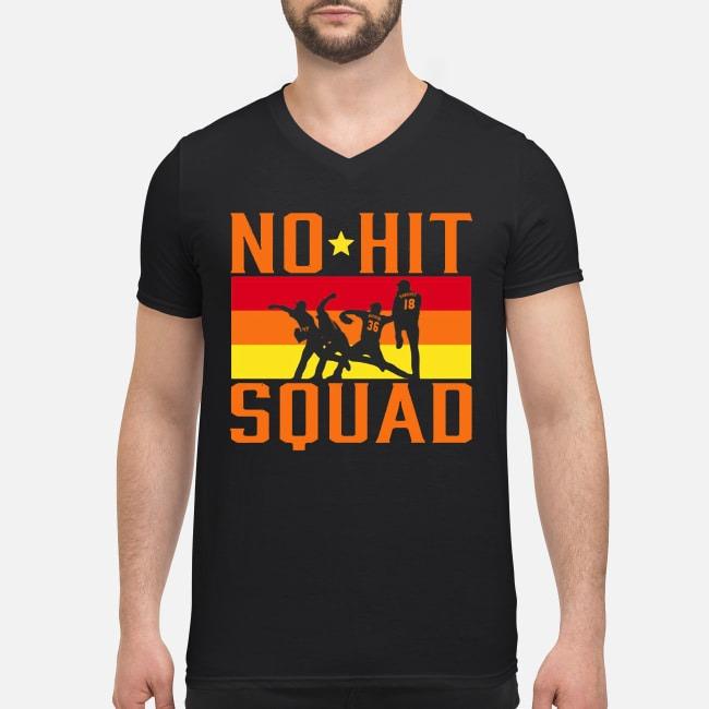 Houston no hit squad V-neck T-shirt