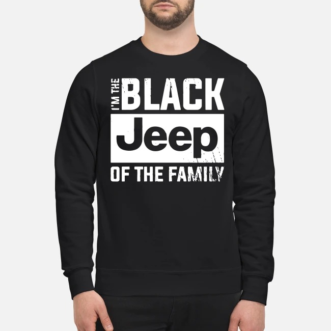 I'm the black Jeep of the family Sweater
