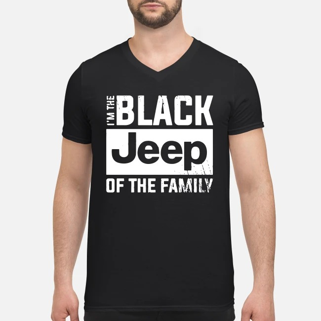 I'm the black Jeep of the family V-neck T-shirt