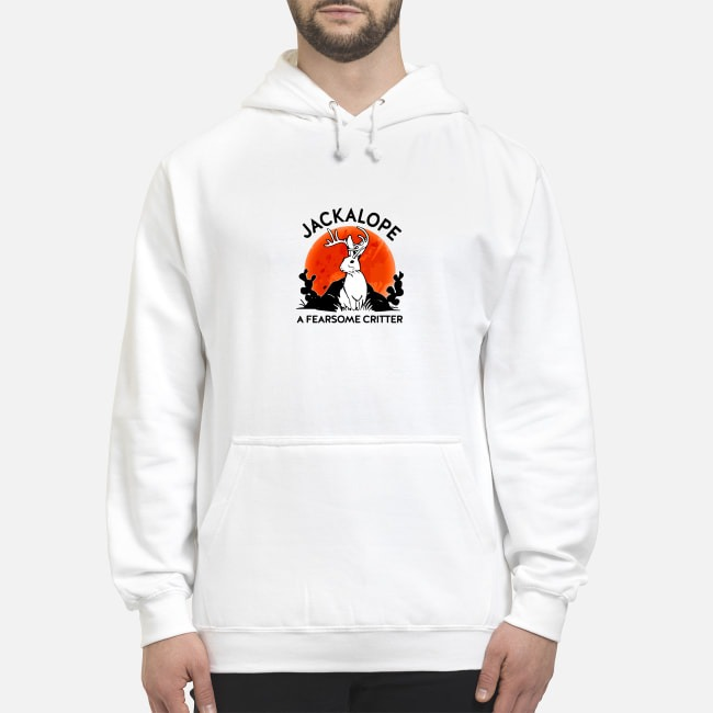 Jackalope a fearsome critter Hoodie