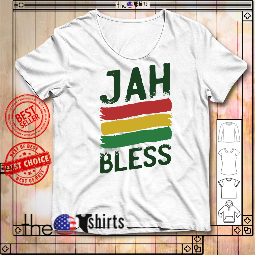 Jah bless sublimation dryfit shirt