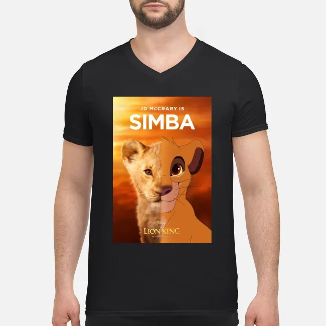 JD McCrary is Simba The Lion King V-neck T-shirt