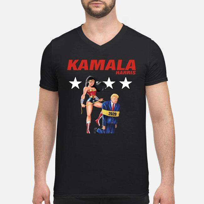 Kamala Harris Pride V-neck T-shirt