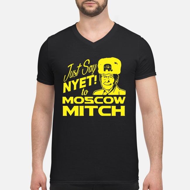 Kentucky Democrats Just say Nyet to Moscow Mitch V-neck T-shirt