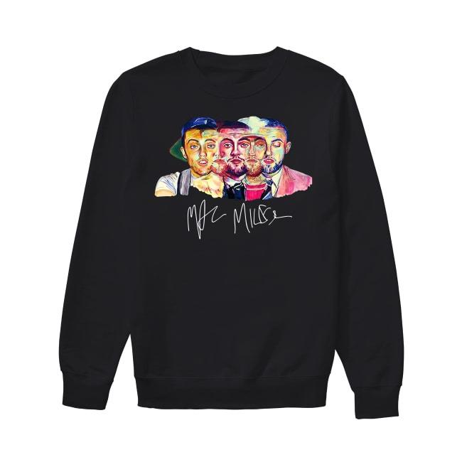 Mac Miller artwork signature Sweater