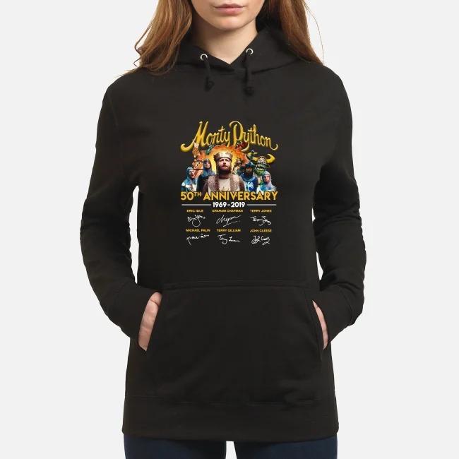 Monty Python 50th anniversary 1969-2019 signatures Hoodie