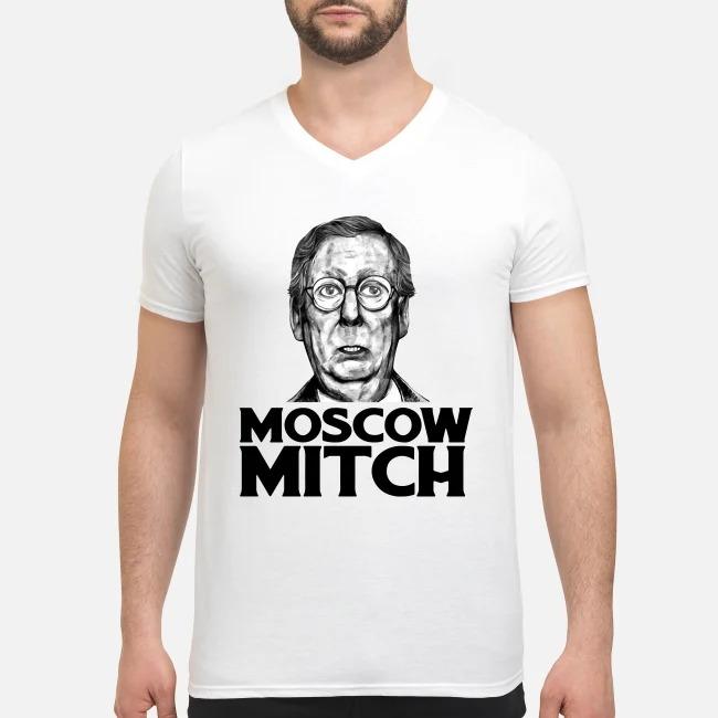 Moscow Mitch #MoscowMitch V-neck T-shirt