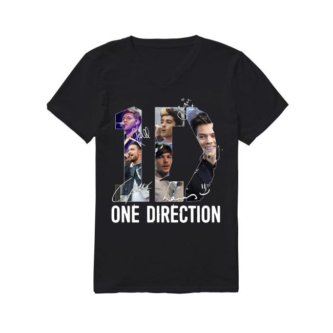 One Direction Signature V-neck T-shirt