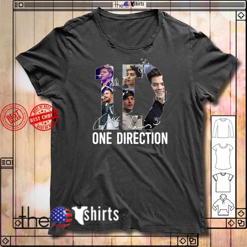 One Direction Signature shirt
