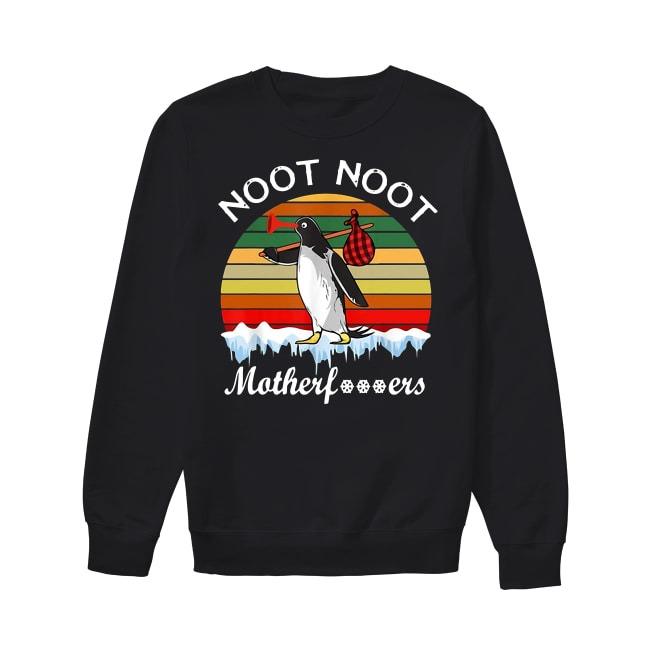 Pingu noot noot motherfuckers vintage Sweater