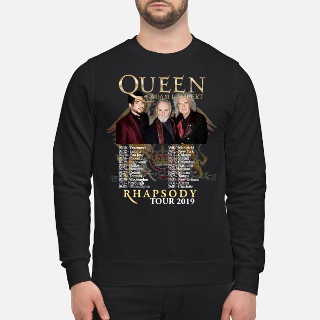 Queen Adam Lambert 2019 Rhapsody Tour Sweater