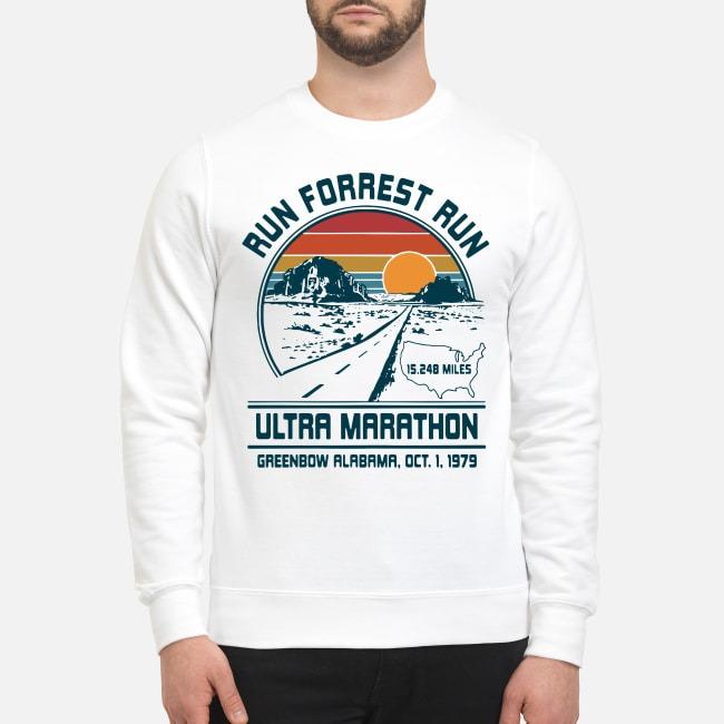Run Forrest Run Ultra Marathon Greenbow Alabama Oct 1 1979 Sweater