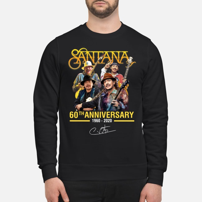 Santana 60th anniversary 1960-2020 signature Sweater