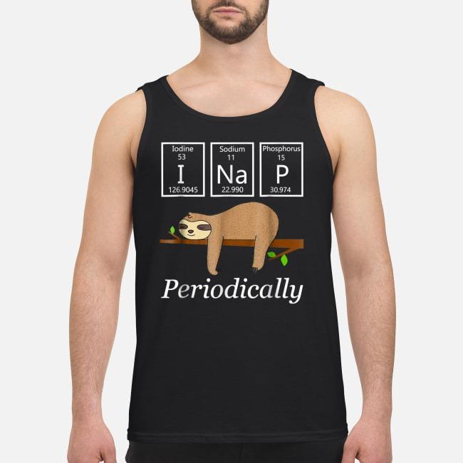 Science sloth I nap periodically Tank top