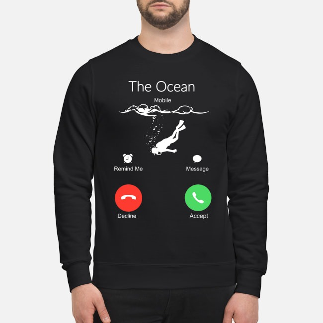 Scuba Diving the ocean is calling Sweater