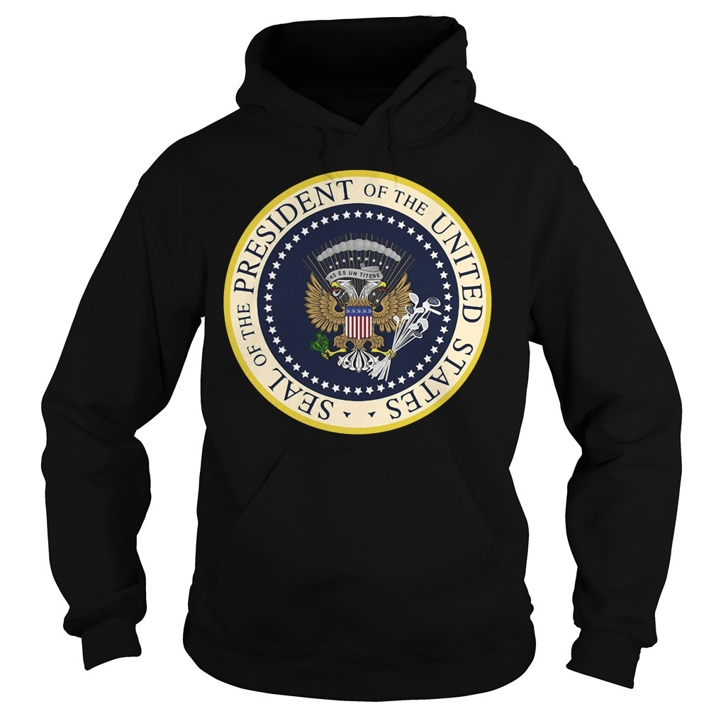 Seal of the President of the United States money Hoodie