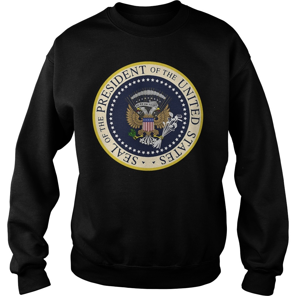 Seal of the President of the United States money Sweater