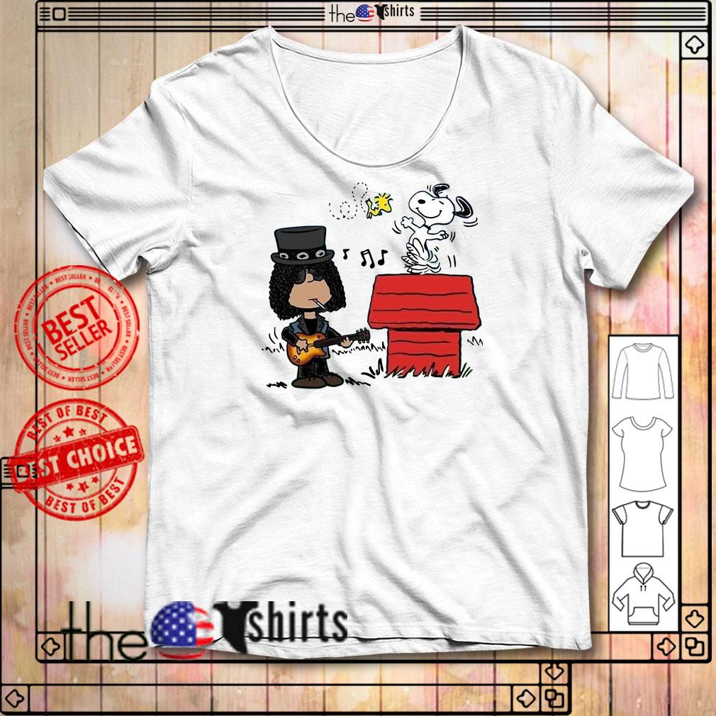 Slash and Snoopy shirt