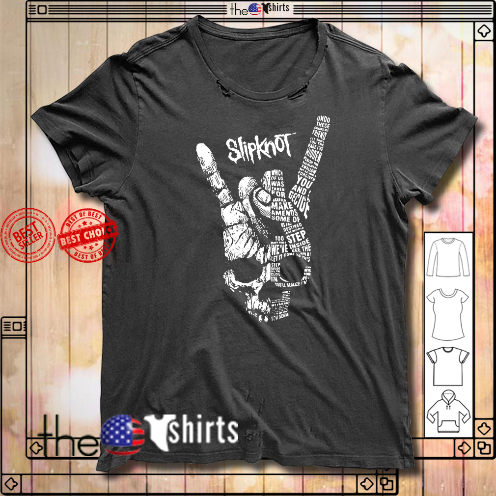 Slipknot you and I decide make men's some of step shirt