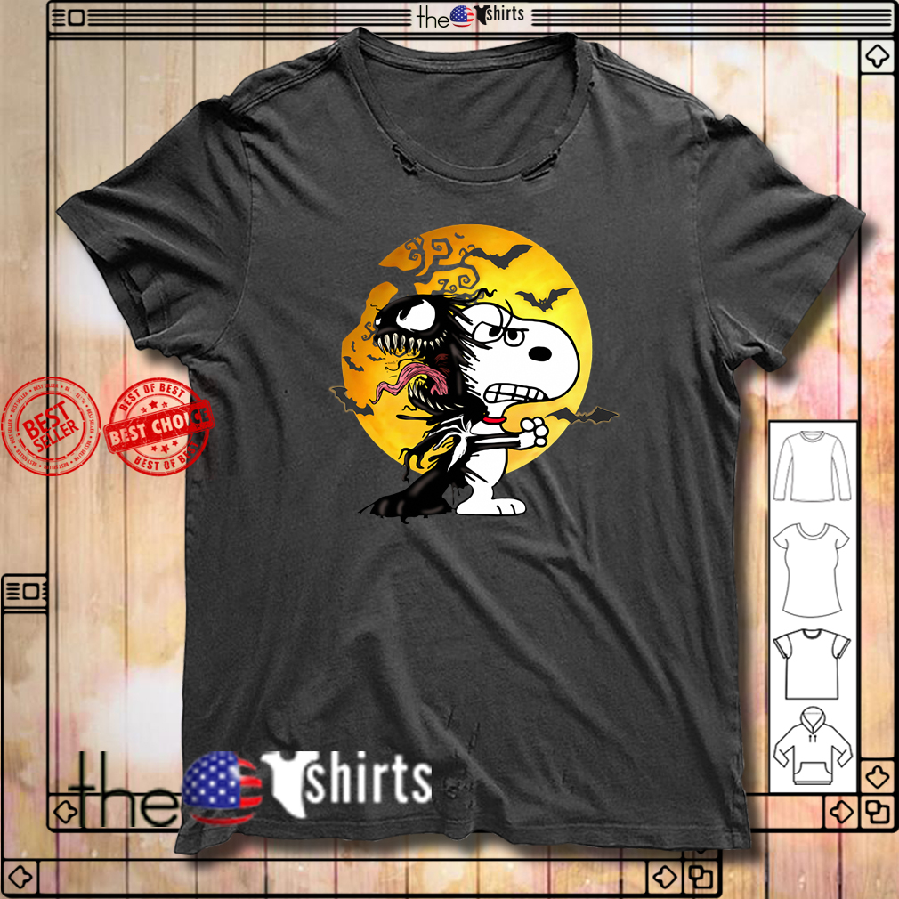 Snoopy Venom Halloween shirt