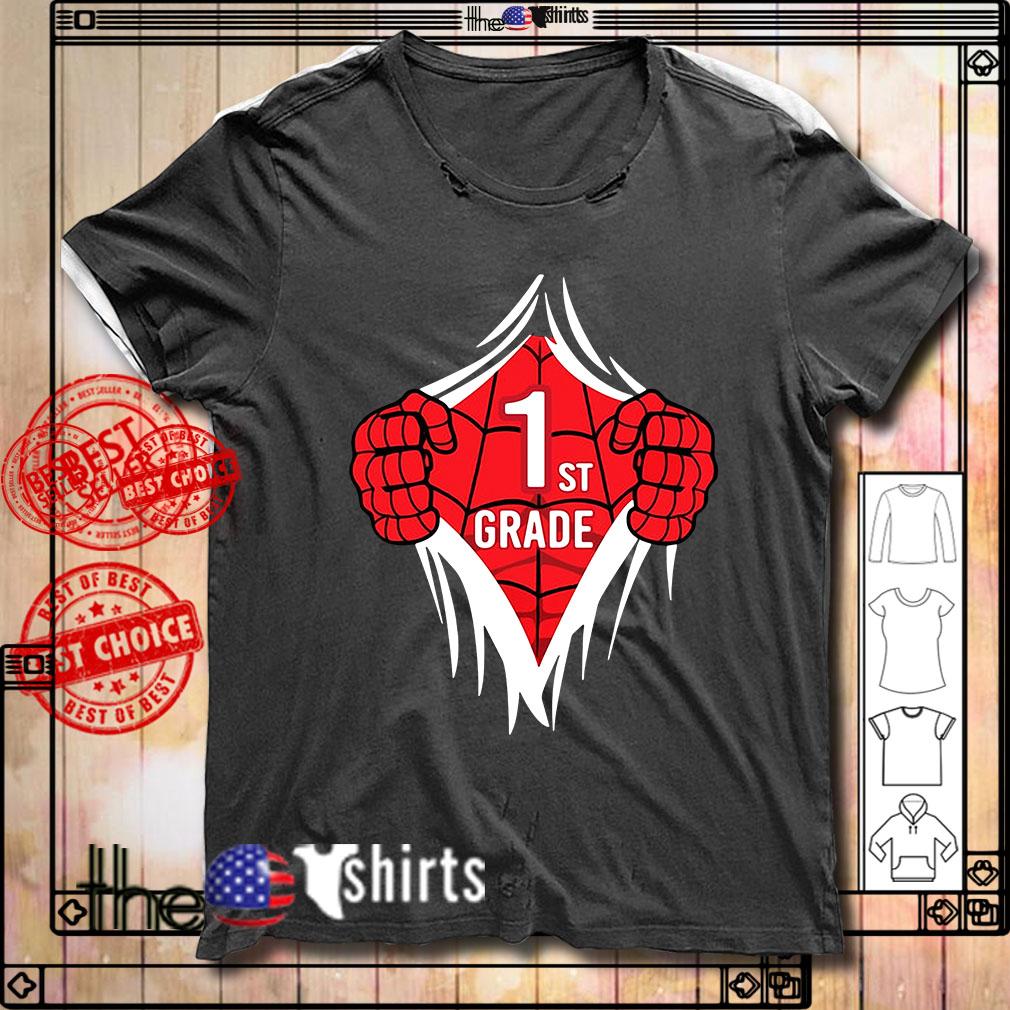 Spider-Man 1st grade inside me shirt