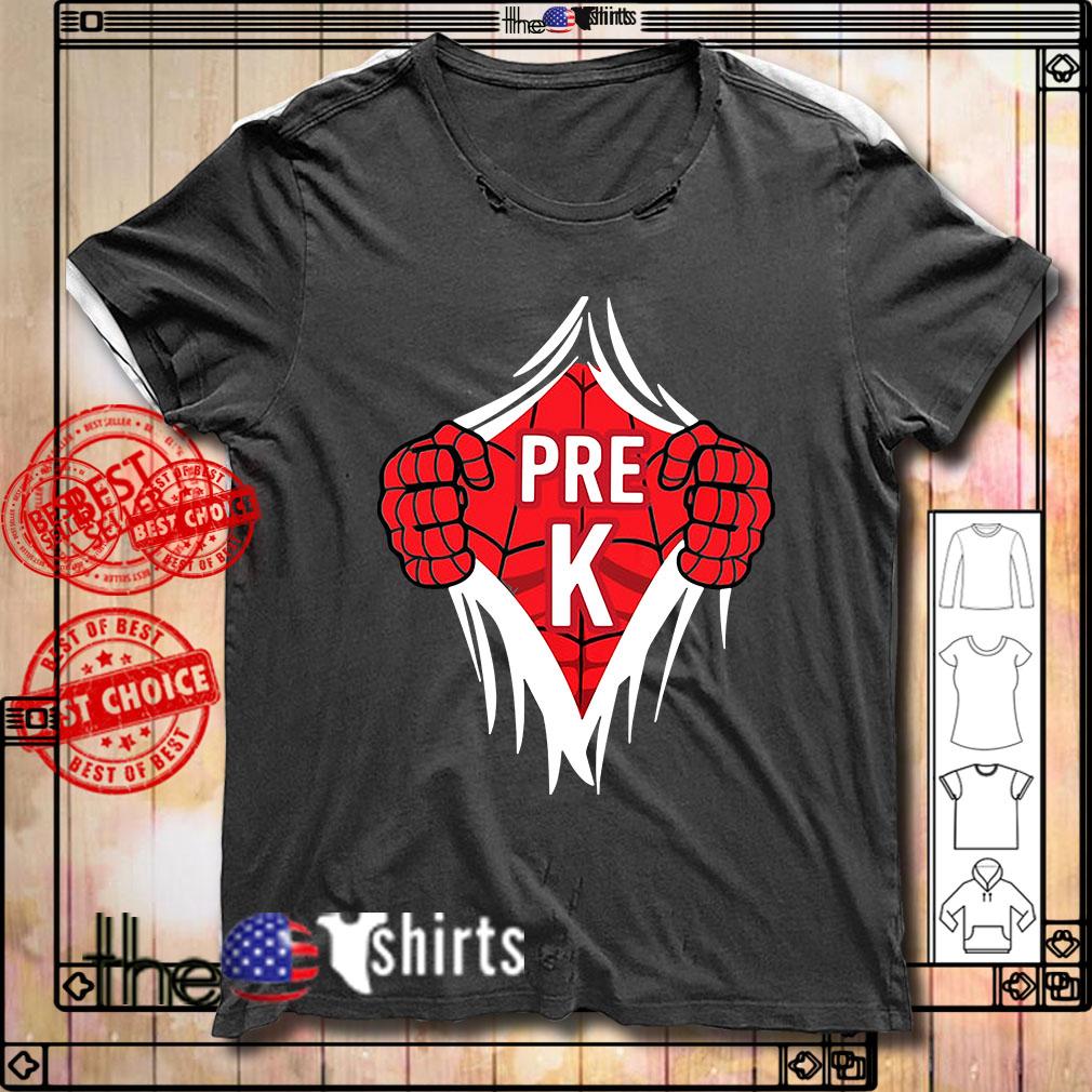 Spider-Man Pre K inside me shirt
