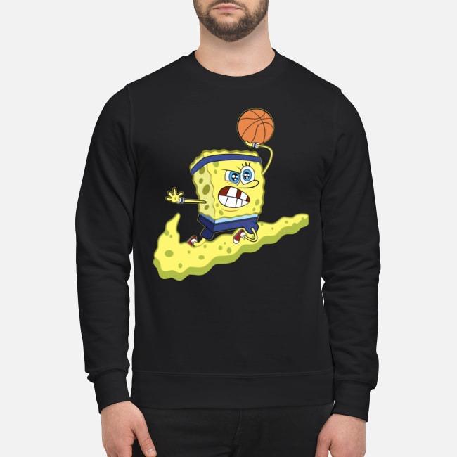Spongebob Basketball Sweater