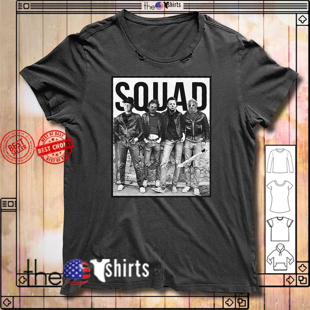 Squad Horror Halloween Movie shirt