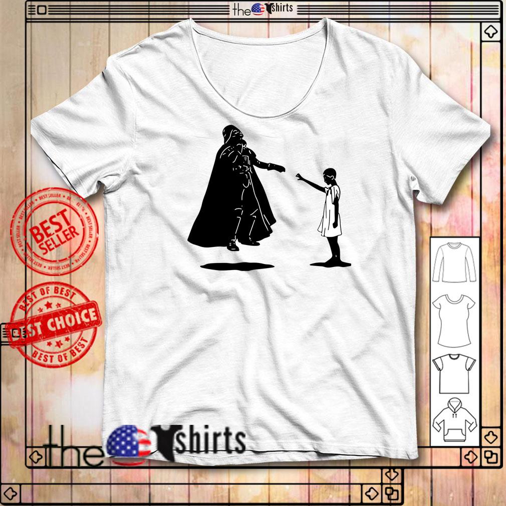 Stranger Things Eleven vs Darth Vader shirt