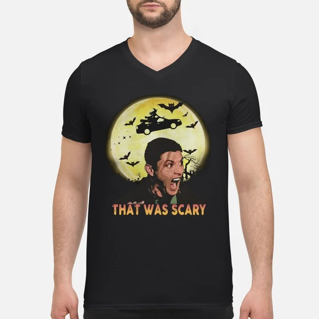 Supernatural that was scary V-neck T-shirt