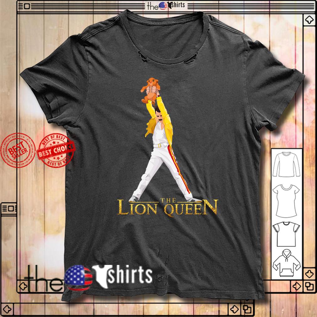 The Lion Queen Freddie Mercury shirt