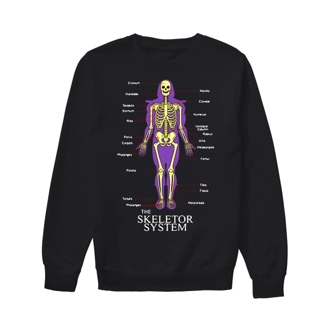 The Skeletor System Sweater