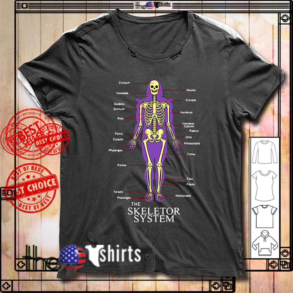 The Skeletor System shirt