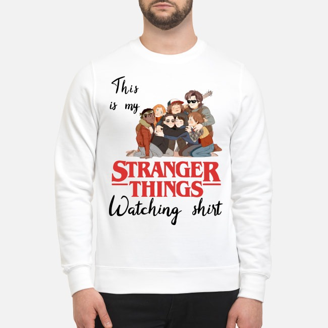 This is my Stranger Things watching Sweater