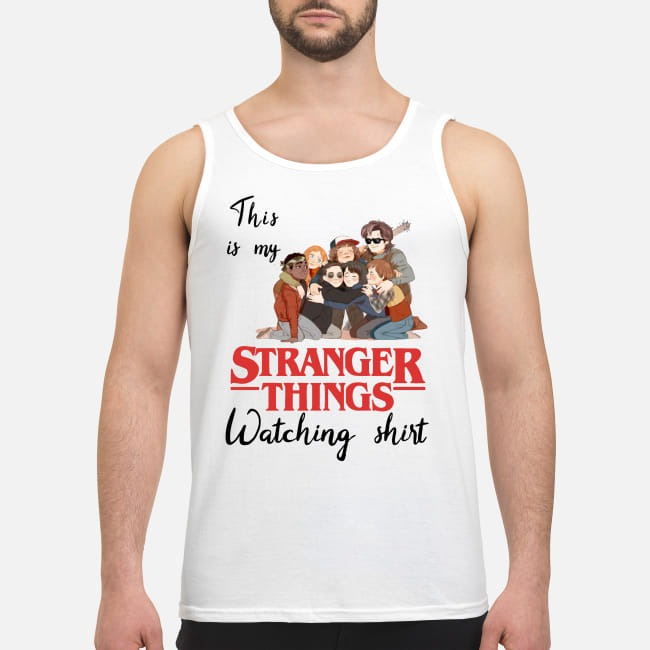 This is my Stranger Things watching Tank top