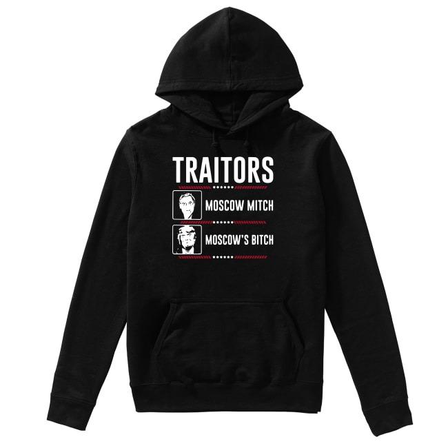 Traitors Ditch Moscow Mitch Impeach Trump 86 45 Hoodie