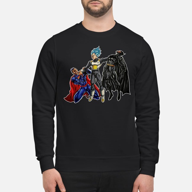Vegeta Superman Batman  Sweater