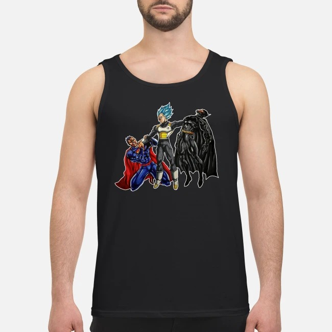 Vegeta Superman Batman Tank top