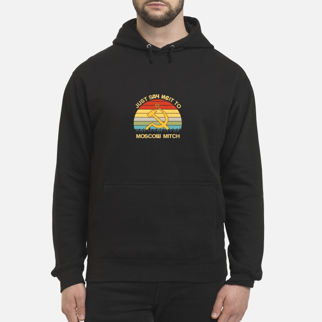 Vintage Just Say Neit To Moscow Mitch Hoodie