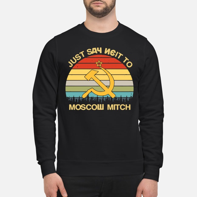 Vintage Just Say Neit To Moscow Mitch Sweater