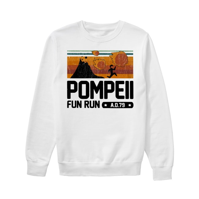 Vintage Pompeii fun run AD 79 Sweater