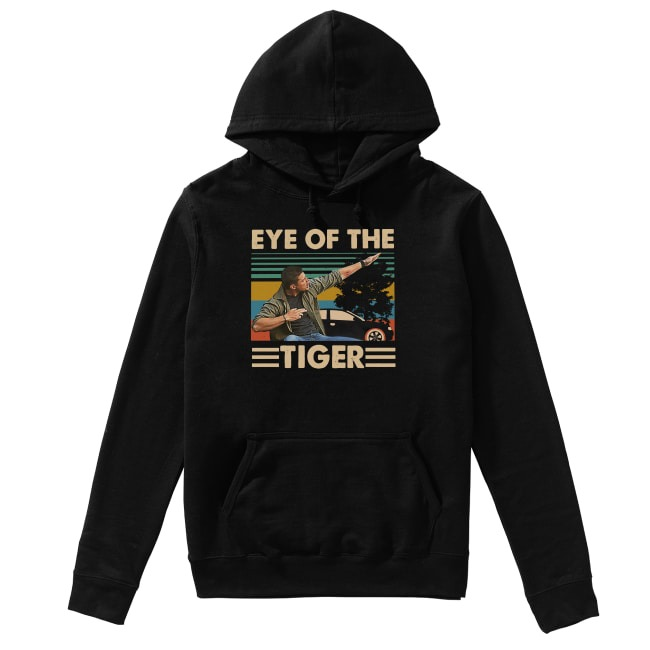 Vintage Supernatural Dean Winchester Eye of the tiger Hoodie