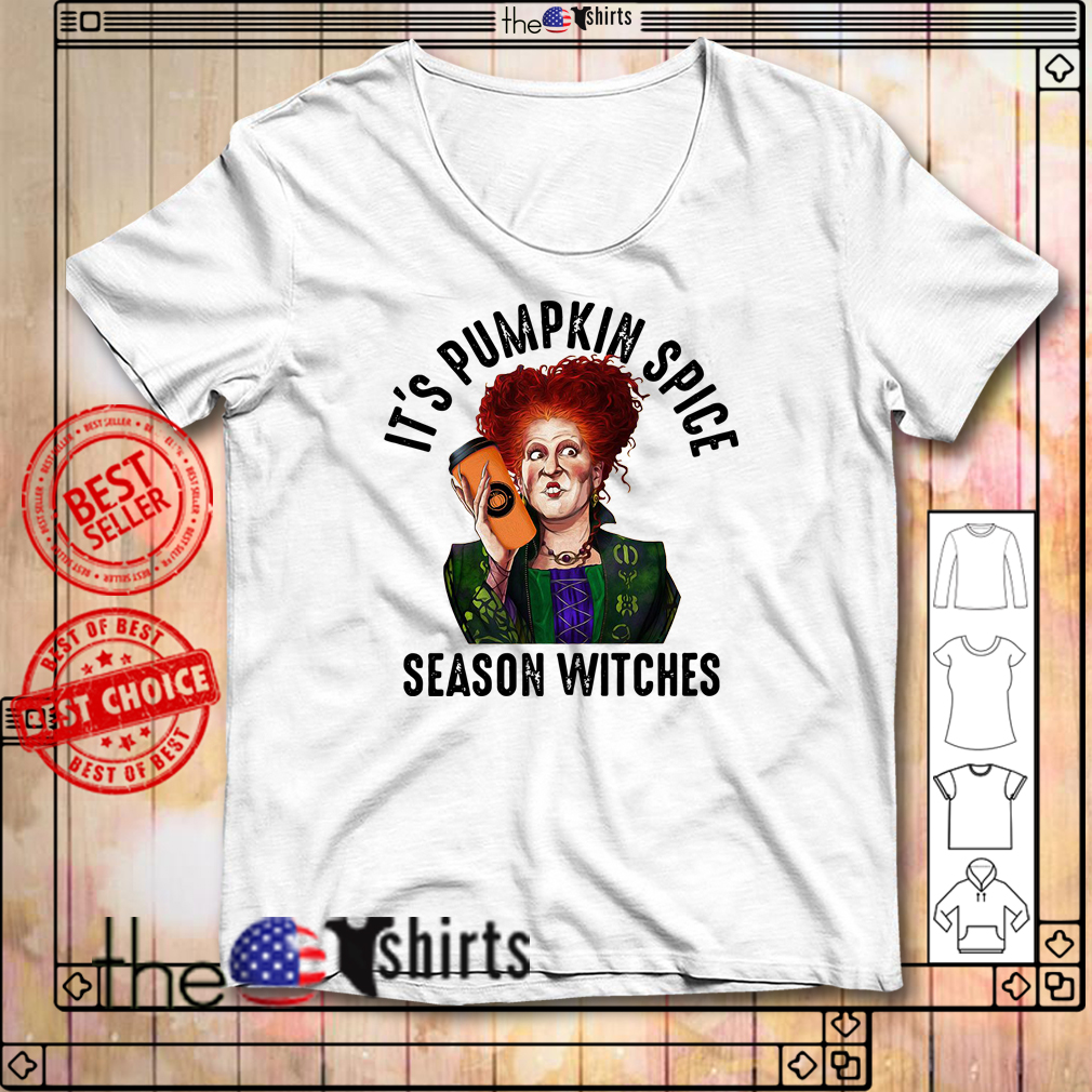 Winifred Sanderson It's pumpkin spice season witches shirt